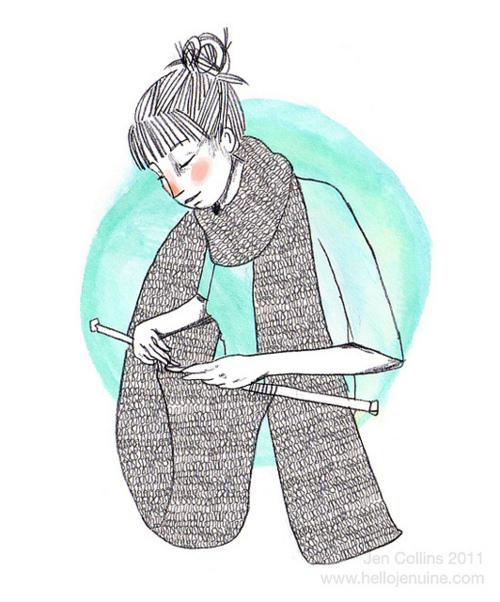 Knitting Inspiration Tumblr : Knitting monster