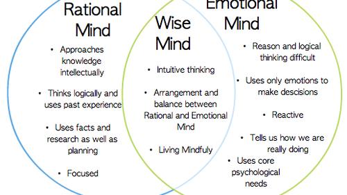 Wise Mind Worksheet Worksheets Releaseboard Free printable – Dbt Worksheet