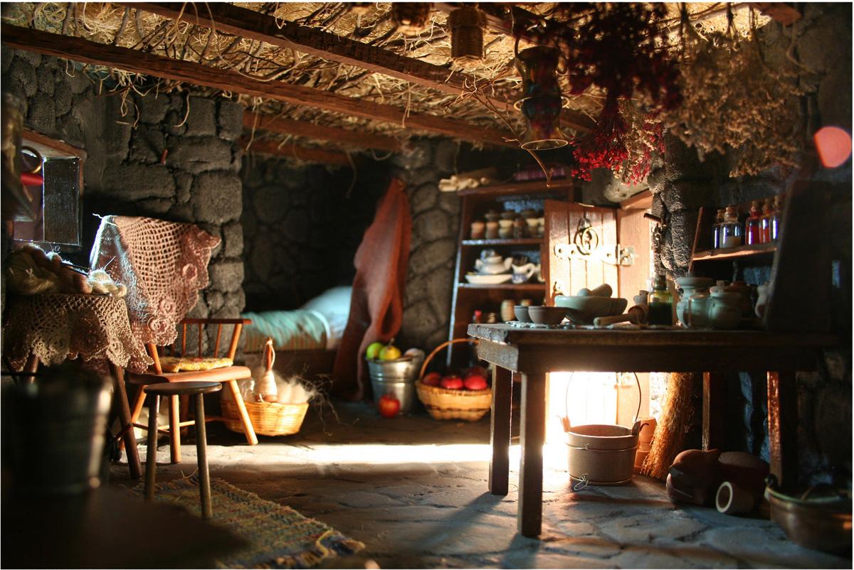 Cottage And Cauldron