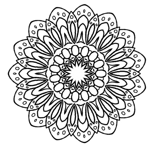 small flower coloring pages - photo#42