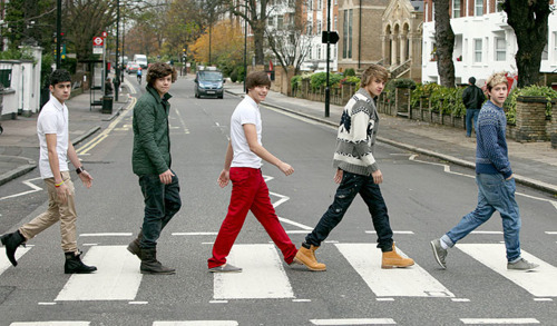 One Direction Abbey Road