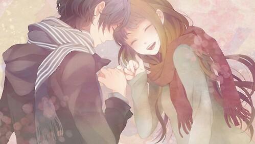 Anime Couple On Tumblr