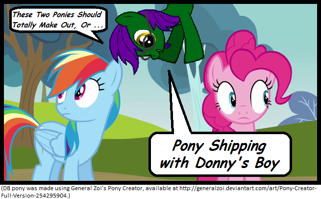 Pony Shipping with Donny's Boy