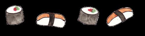 Risultati immagini per sushi png tumblr