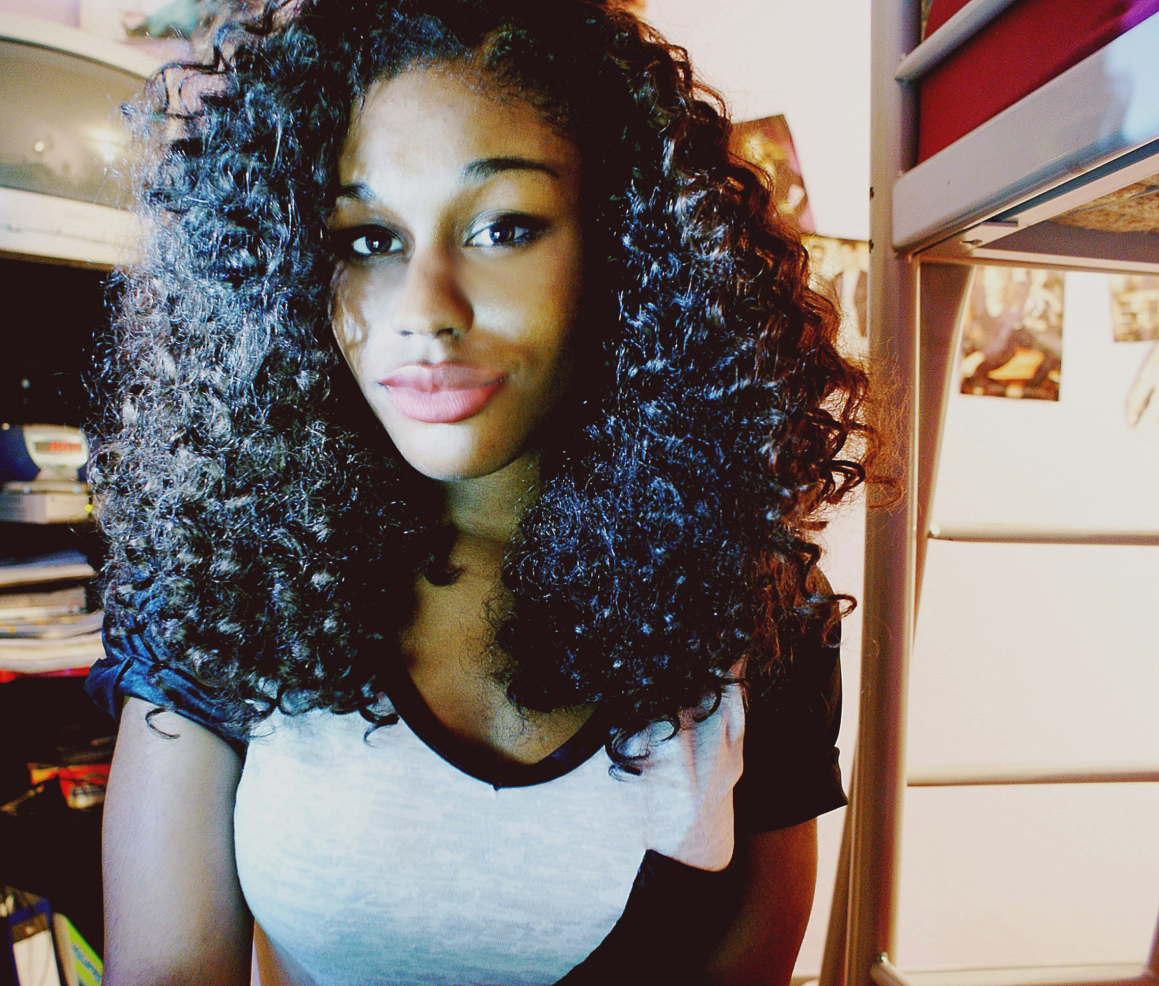 Black Girls with Curly Hair Tumblr