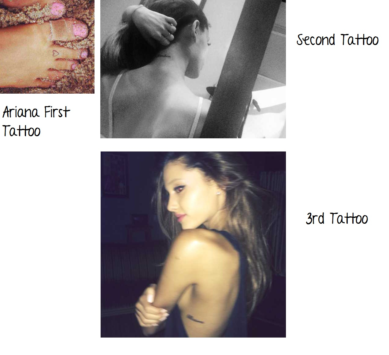 Facts About Ariana Grande On Editing Ariana S Tattoo