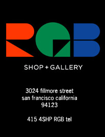 RGB shop+gallery | san francisco