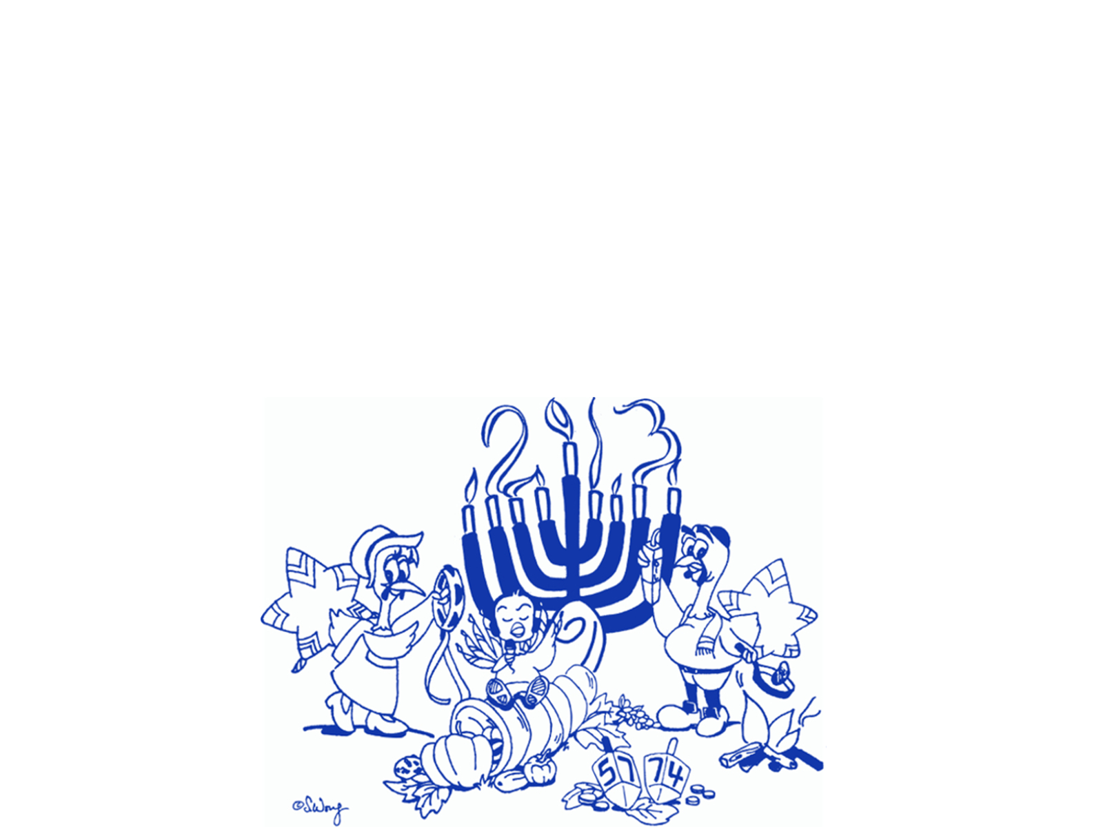 <h2><strong>Hanukkah Thanksgiving 2013 !</strong></h2>        	<p>Donate to the Inte