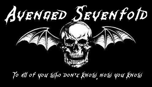 avenged sevenfold logo. tumblr logo is really a 1.