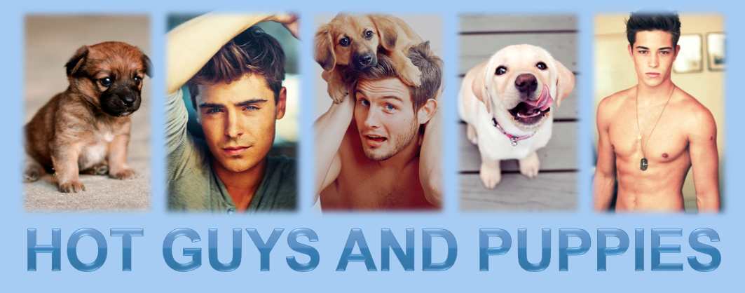 Hot Guys & Puppies
