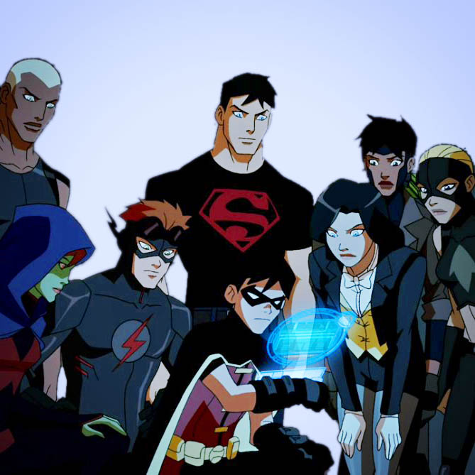 TAGS FAQ SCREENCAPS TFLN TFYJYoung Justice Icon