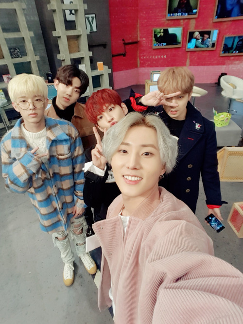 A Day6 photo, with the photo taken at a show called 'After School Club'.