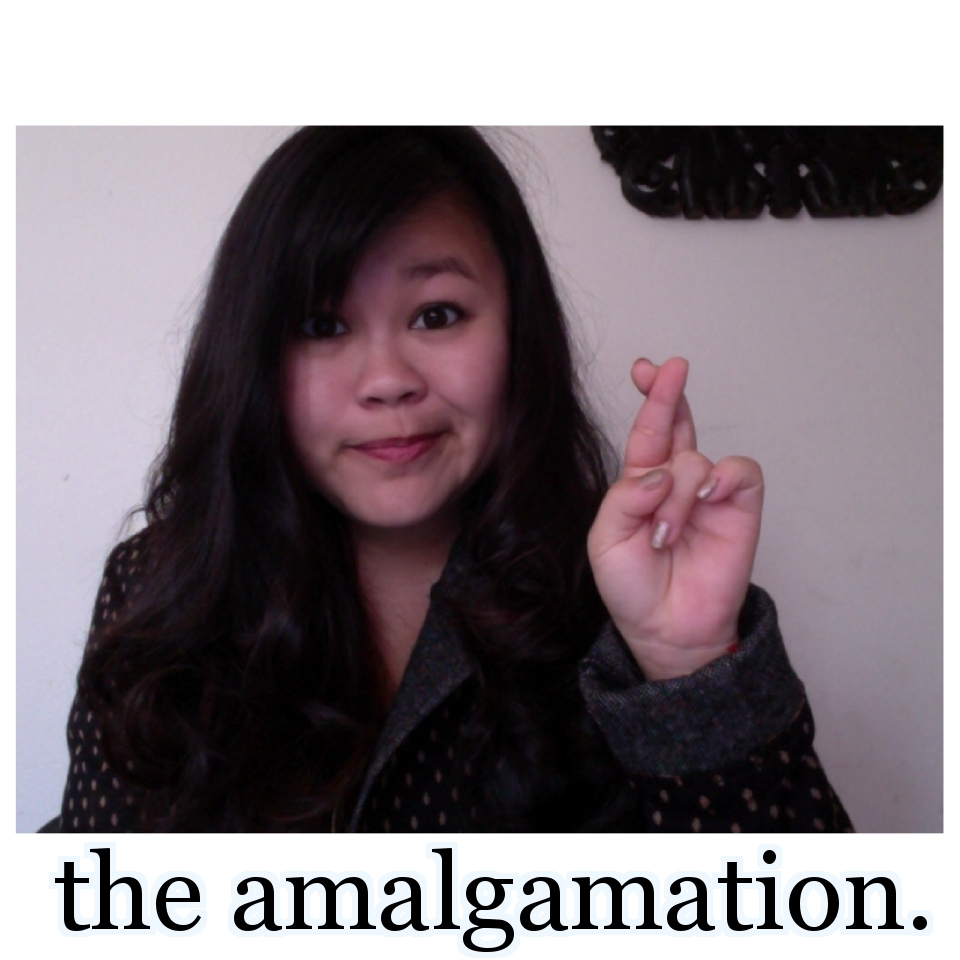 the amalgamation.