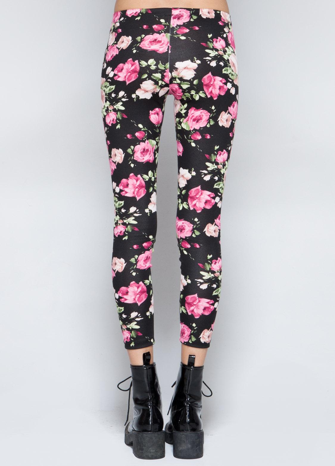 Astounding Floral Leggings Tumblr Contemporary - Best Image Engine ...