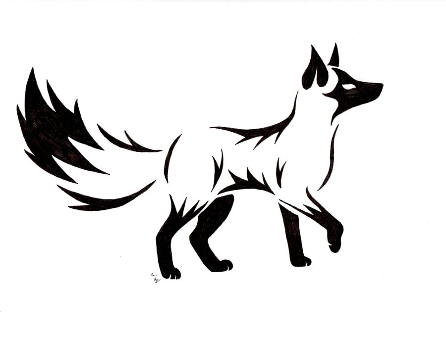 Tattoo on Pinterest | Fox Tattoos, Foxes and Fox Drawing