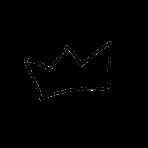 Black crown transparent background - photo#9