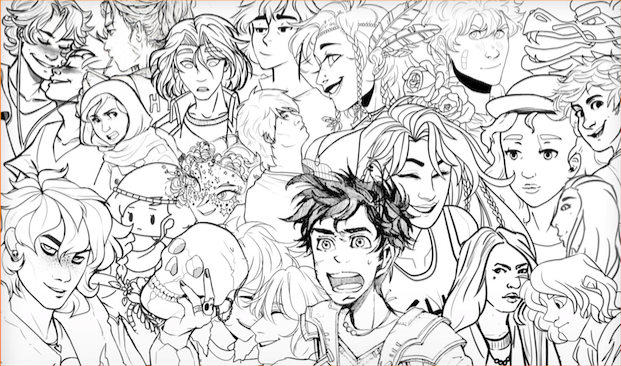 PJO Coloring Book Project
