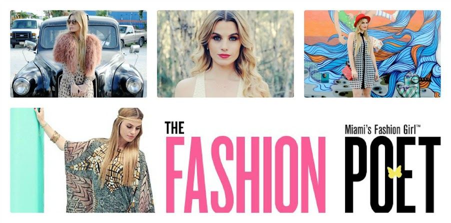 The Fashion Poet Annie Vazquez is a Miami Fashion Blogger who has been featured on Vogue Brasil, TODAY Show, Marie Claire, Elle Magazine, Nylon Magazine, Paper, The …