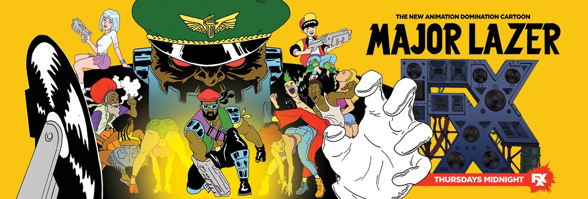 Major Lazer Cartoon