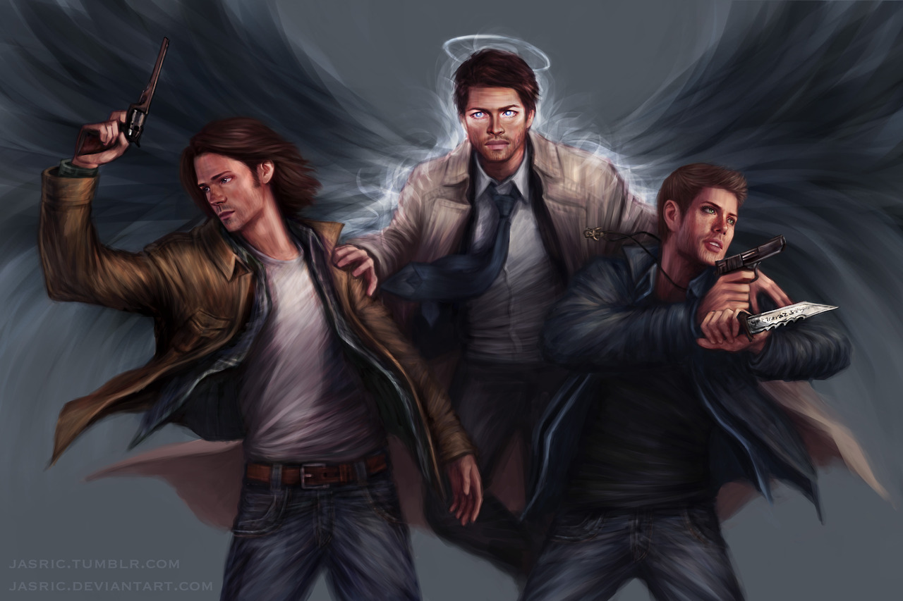 Supernatural fanart for Fan art tumblr