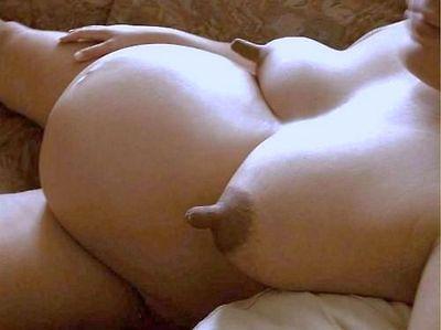 Long lactating nipples