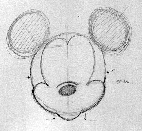 Mickey Mouse Drawings Tumblr