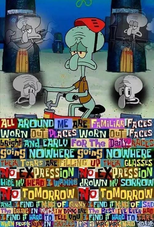 Sad Squidward