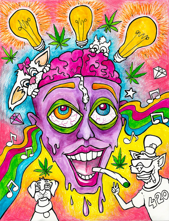 Trippy Stoner Drawings Tumblr | www.pixshark.com - Images ...