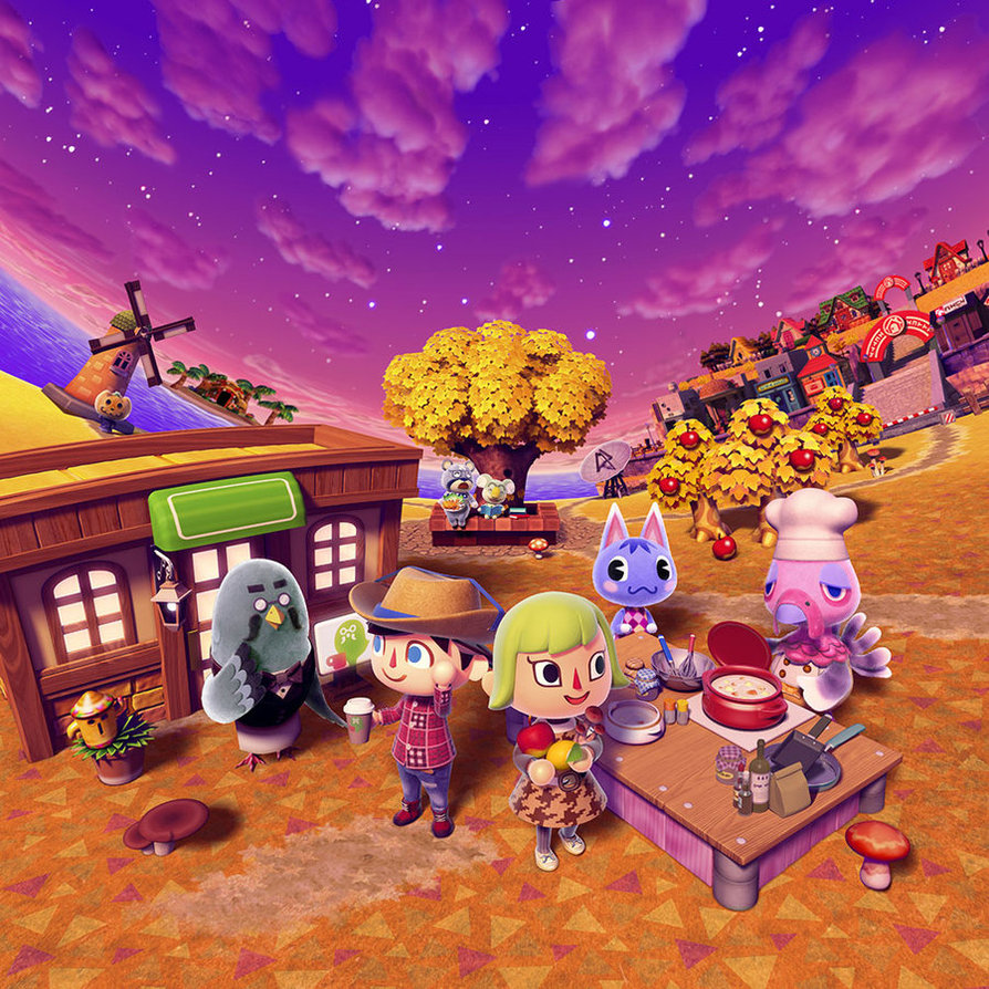Dream town tours for Animal crossing new leaf arredamento