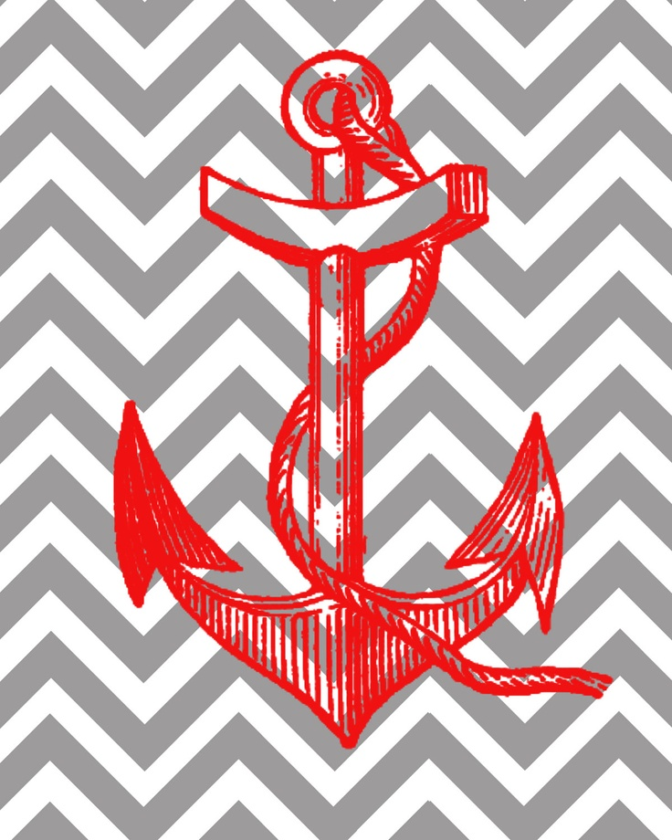 Anchor Chevron Wallpaper Backgrounds chevron anchor