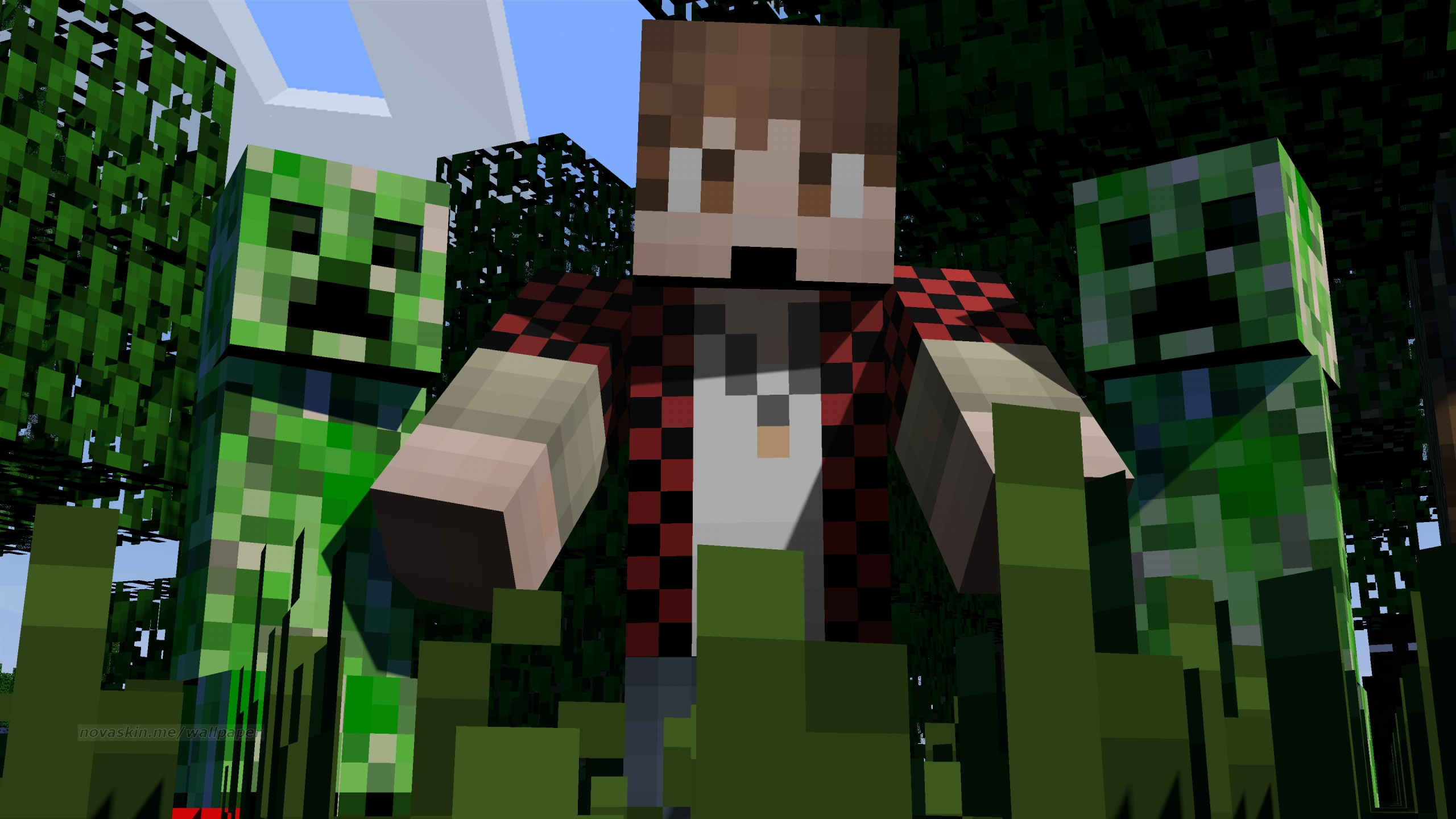 Nick Daa Minha Skin Minecraft BajanCanadian