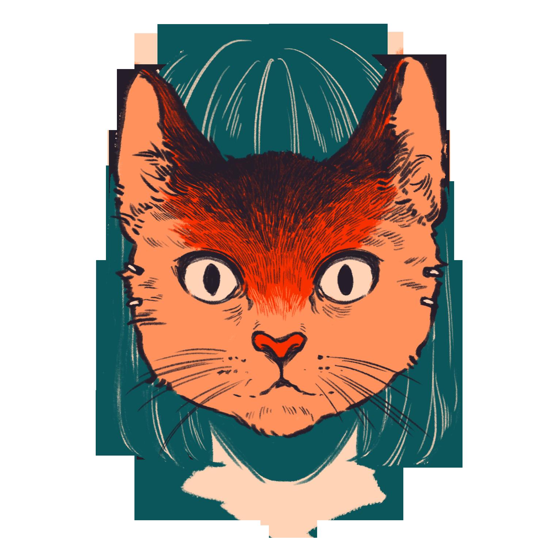 Cat Illustration Tumblr MNCT