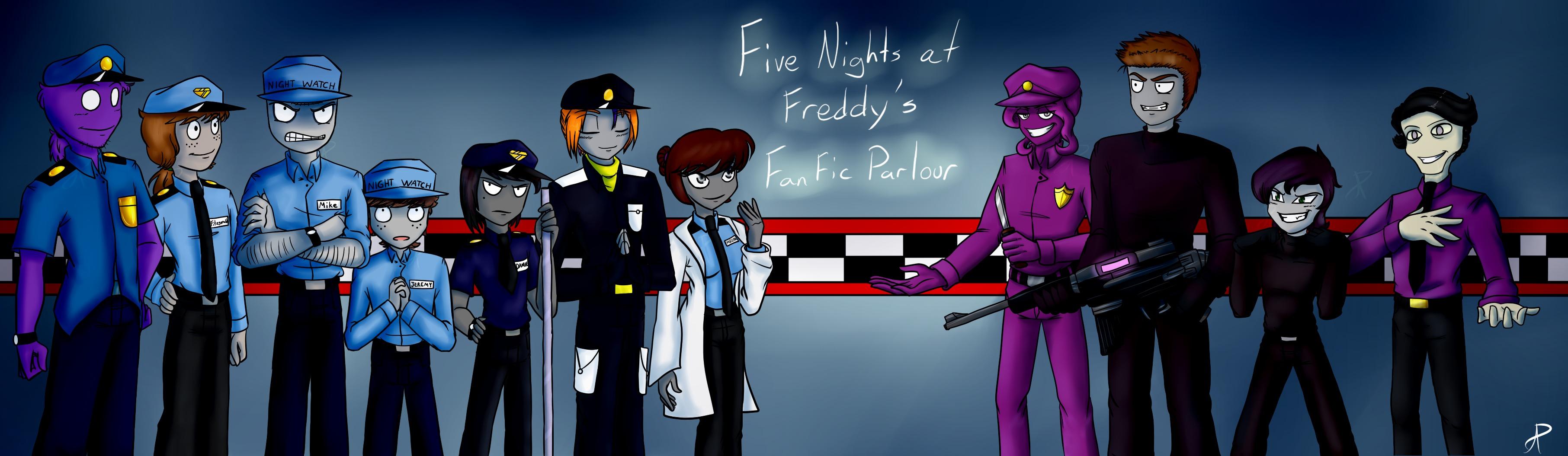 Phone Guy X Purple Guy Fanfic Lemon - Banner