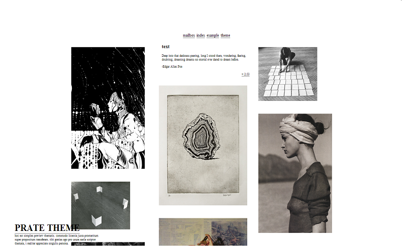 Simple Tumblr Themes SIMPLE THEMES CURATED BY ERIN.
