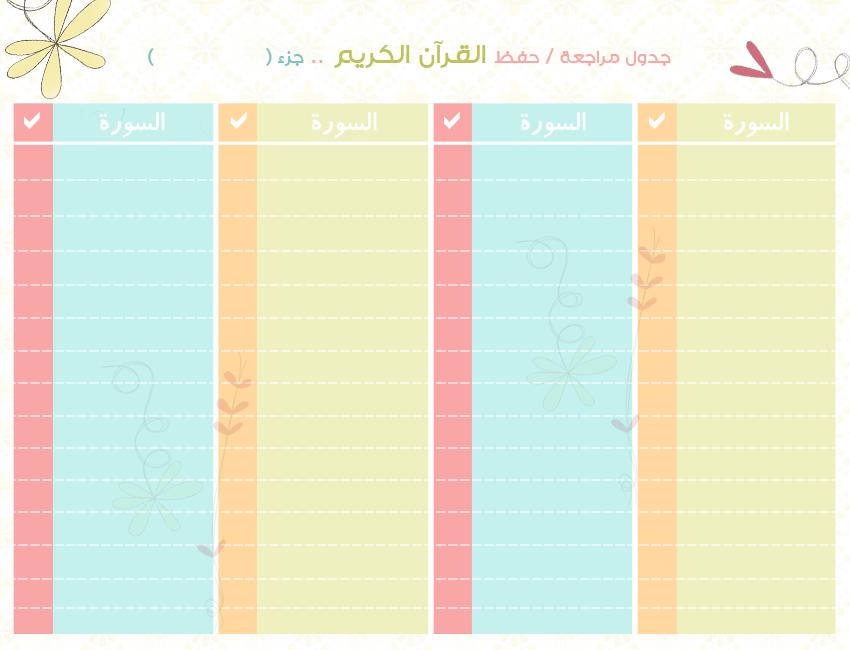 القران الكريم جزء عم مكتوب pdf