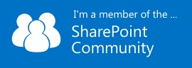 SharePoint Community member