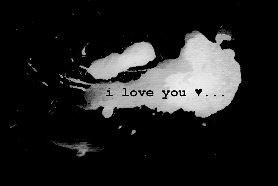 "i love you and will not leave you alone "" i love you,أنيدرا"