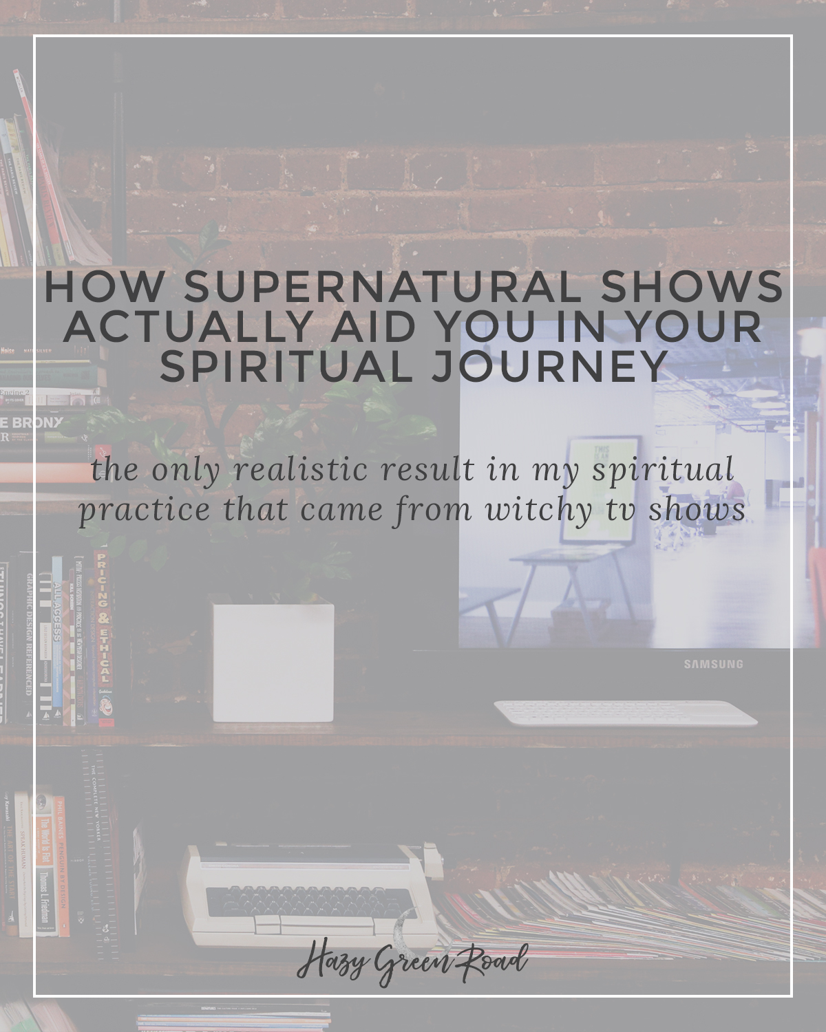 Here's how supernatural shows ACTUALLY aid you in your spiritually journey. It's not what you'd think.