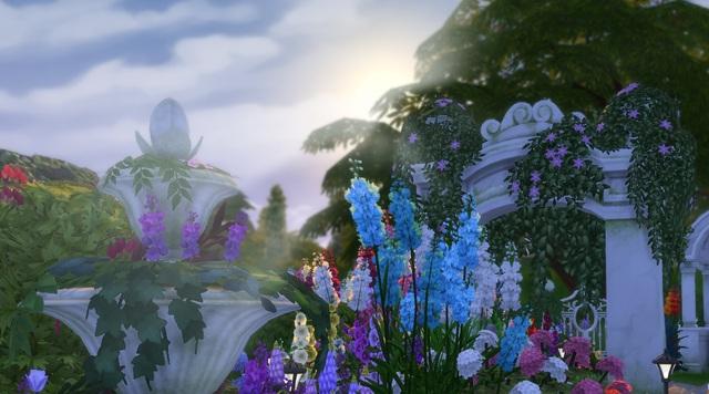 Captivating Moonlit Garden