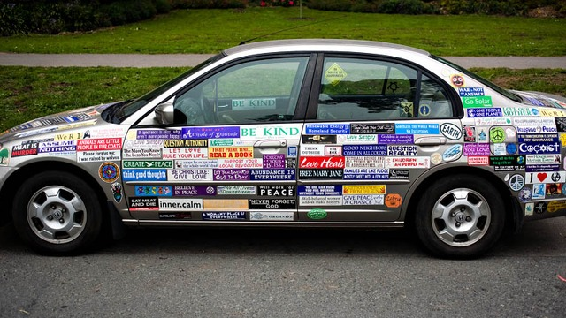 Everyone loves bumper stickers