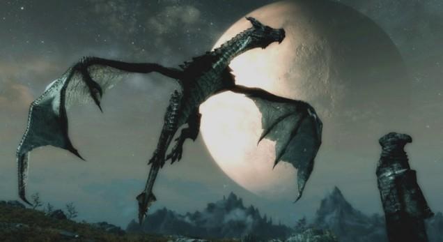 skyrim how to become a dragon