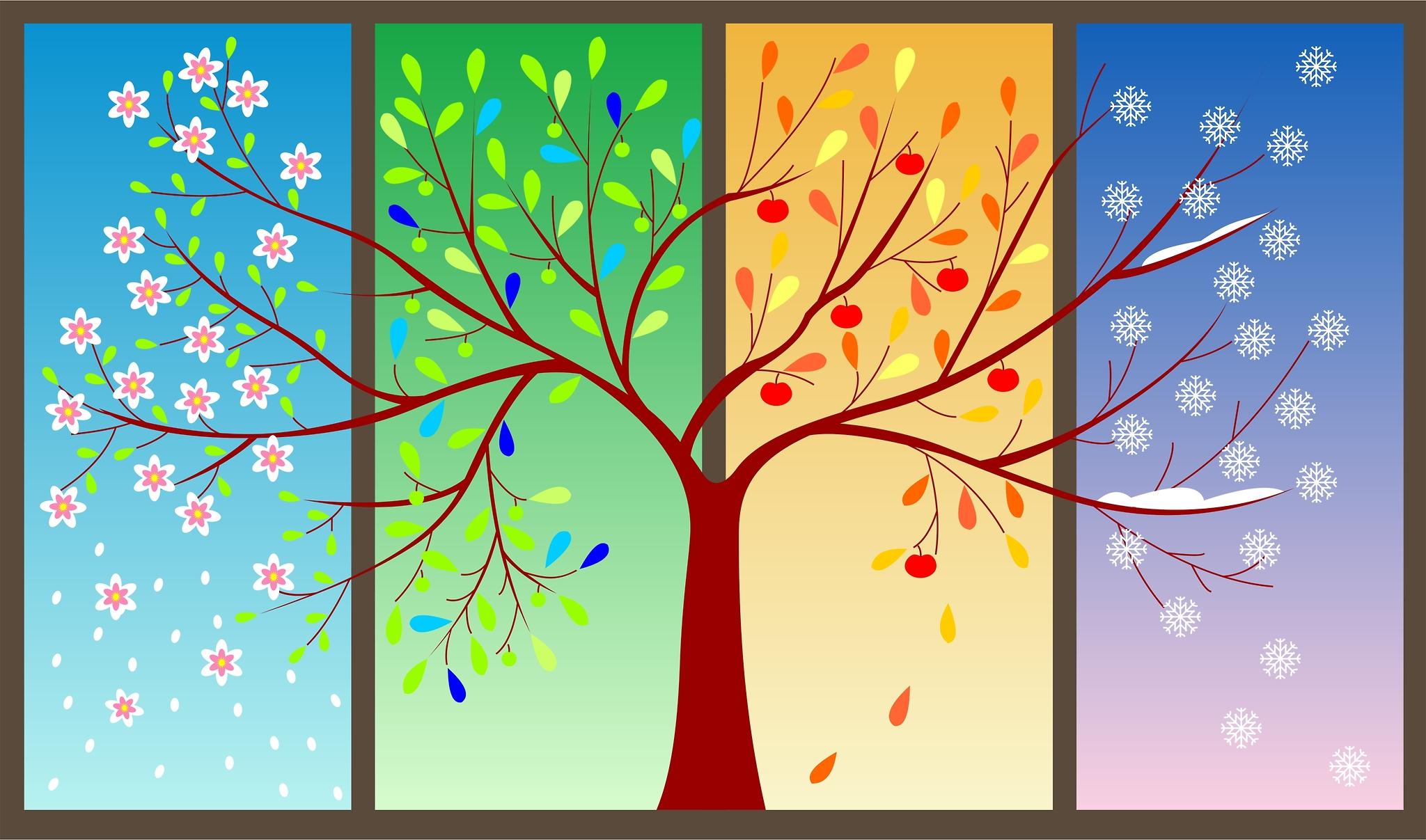 The Four Seasons Fan