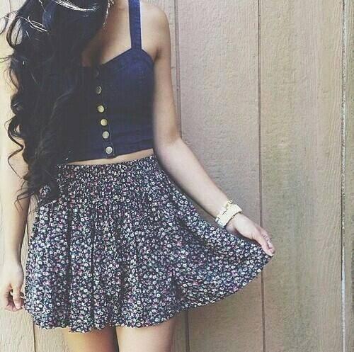 Cute crop top dresses