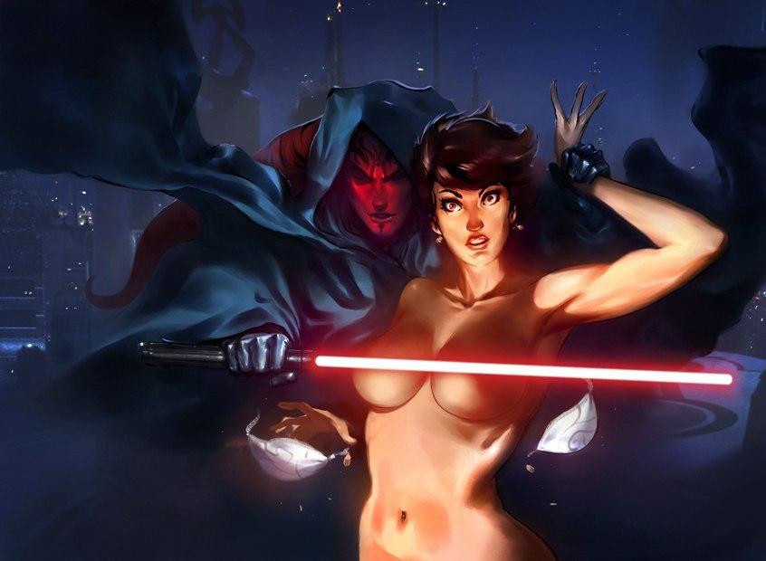 Star wars empire comic girls