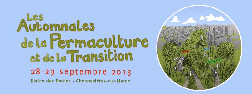 Automnales de la permaculture et de la transition