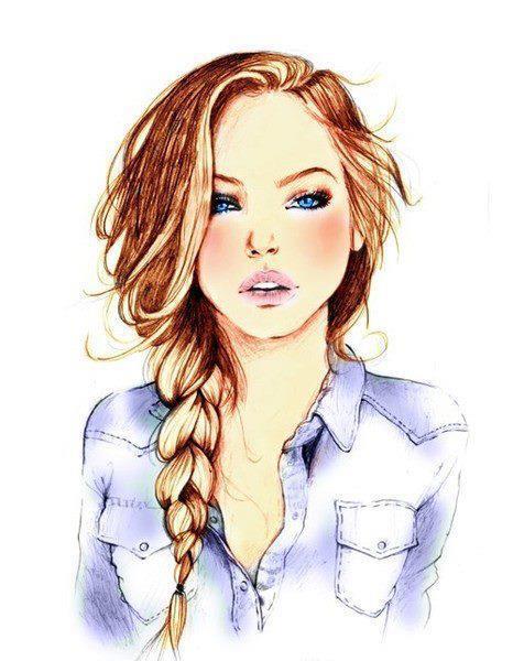 Chicas tumblr dibujos - Imagui