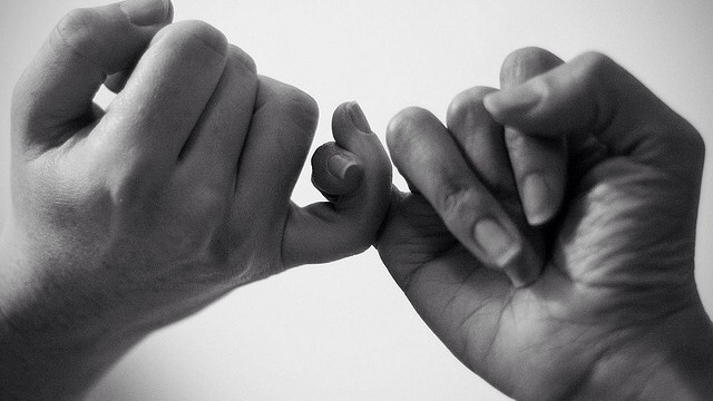 Image result for swear finger couple