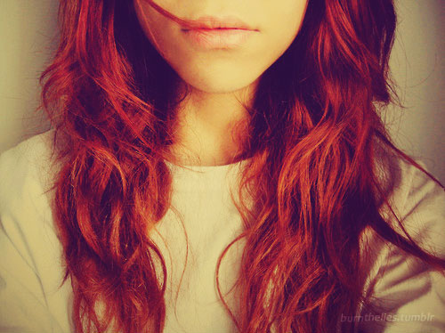 Shiny Glamorous Red Hair