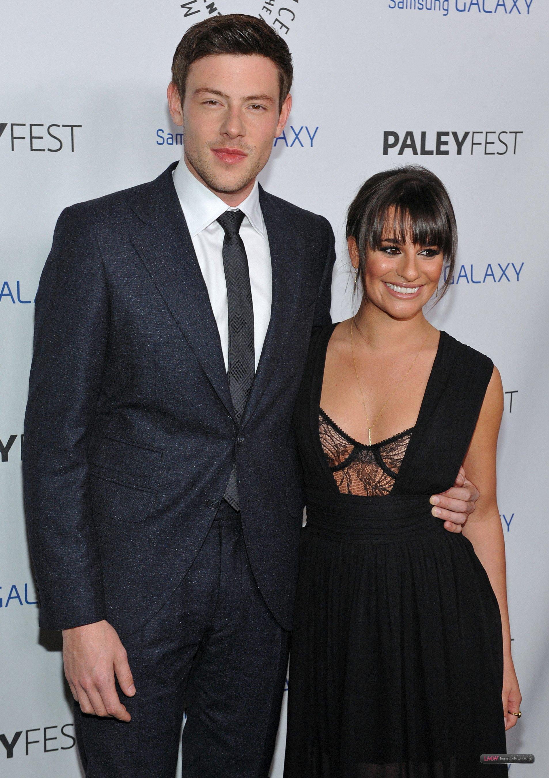 Lea Michele y Cory Monteith - Glee