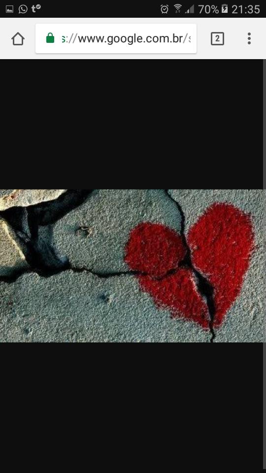 Coração Destruído Tumblr